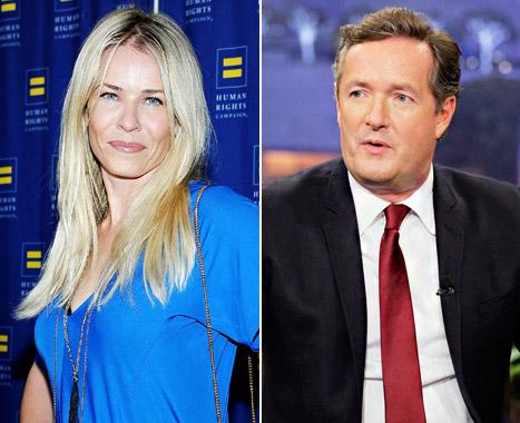 """Chelsea Handler Bickers With Piers Morgan: """"You're So Obnoxious"""""""