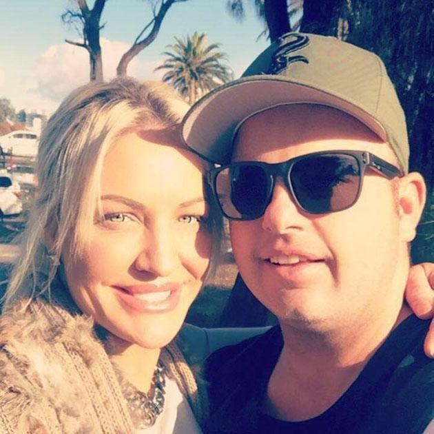 Bryne's ex-fiancee Brett has revealed he had no idea Brynne was seeing another woman. Source: Facebook