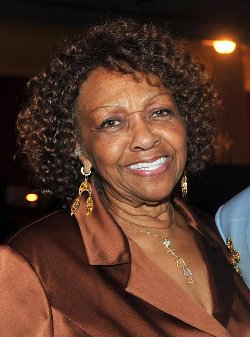"FILE -  In this May 6, 2011 file photo originally released by the American Heart Association, Grammy award-winning soul and gospel singer Cissy Houston appears at the American Heart Associations' ""You Are The Power"" concert at the Apollo Theater in New York.  Houston's new Gospel EP ""Walk On By Faith"" was released this week. (AP Photo/American Heart Association, Diane Bondareff)"