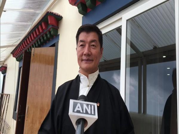 Outgoing President of the Tibetan government in exile, Lobsang Sangay (File Photo)