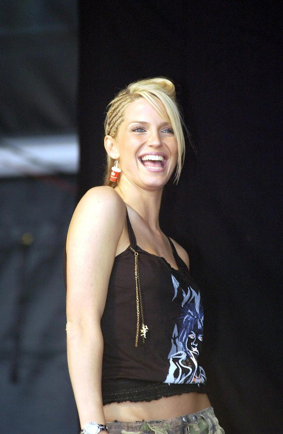 """<p>Then: Sarah Harding was the blonde bombshell of the group that bought out hits including, """"Sound Of The Underground"""" and """"Love Machine"""". [Photo: Getty] </p>"""