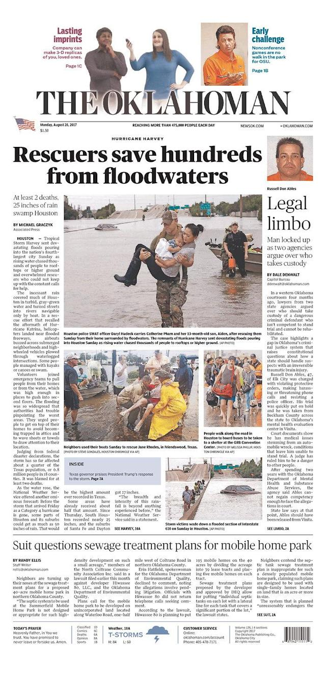 <p>The Oklahoman<br> Published in Oklahoma City, Okla. USA. (newseum.org) </p>