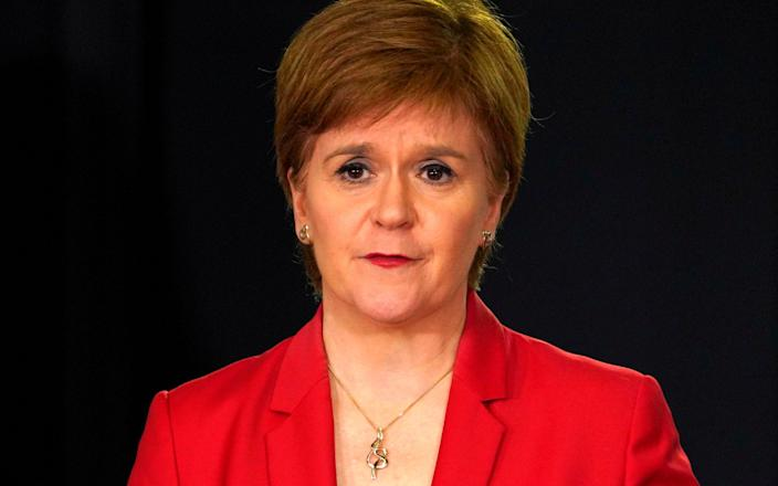 Nicola Sturgeon has faced criticism for the Scottish Government's management of the care sector - AFP/AFP