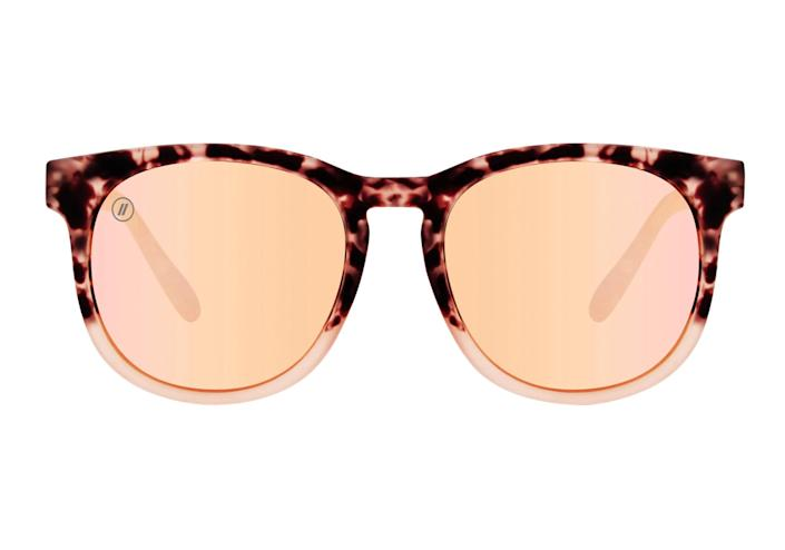 """<p>With its massive selection of frames and cool-looking polarized lenses, this budget-friendly brand stands out in a crowd — and in a selfie.</p> <p><strong>Buy it!</strong> $38 and up; <a href=""""https://www.blenderseyewear.com/"""" rel=""""sponsored noopener"""" target=""""_blank"""" data-ylk=""""slk:blenderseyewear.com"""" class=""""link rapid-noclick-resp"""">blenderseyewear.com</a></p>"""