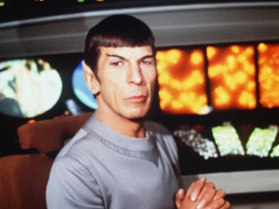 Leonard Nimoy as Spock in 'Star Trek: The Motion Picture' (Rex Features)