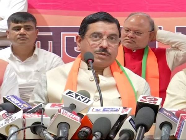 BJP Uttarakhand in charge for Assembly elections 2022, Prahlad Joshi (Photo/ANI)