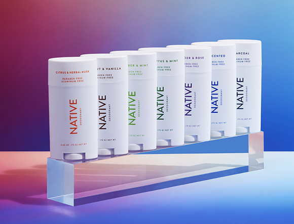 Native deodorant is now available to shop in Canada. Image via Native.