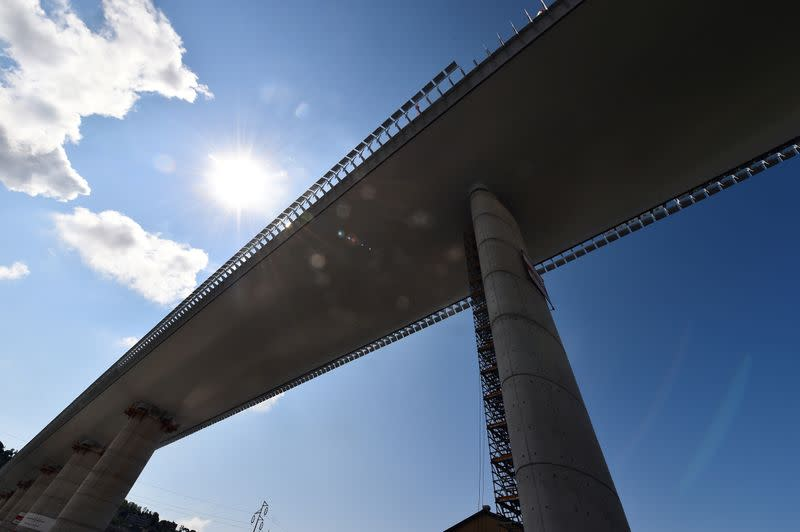 New Genoa bridge to open in August, two years after fatal collapse