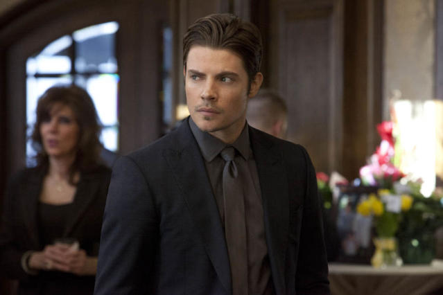 "Josh Henderson in the ""Dallas"" Season 2 episode, ""J.R.'s Masterpiece."""