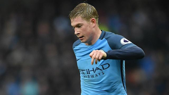 Manchester City will be anxiously following developments after Kevin De Bruyne suffered a groin injury on Belgium duty.