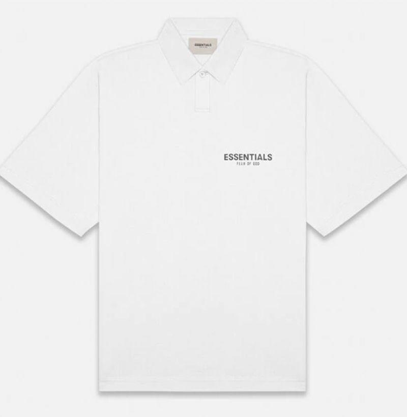 """<p><strong>FOG</strong></p><p>pacsun.com</p><p><strong>$50.00</strong></p><p><a href=""""https://go.redirectingat.com?id=74968X1596630&url=https%3A%2F%2Fwww.pacsun.com%2Ffog---fear-of-god%2Fessentials-white-polo-shirt-0125250500209010.html&sref=https%3A%2F%2Fwww.esquire.com%2Fstyle%2Fmens-fashion%2Fg33032327%2Fcheap-july-4-sales-mens-fashion%2F"""" rel=""""nofollow noopener"""" target=""""_blank"""" data-ylk=""""slk:Buy"""" class=""""link rapid-noclick-resp"""">Buy</a></p><p>And the new-age polo to wear 'em with. </p>"""