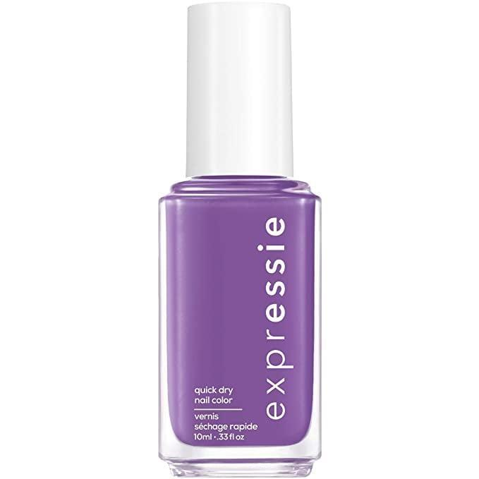 <p>Bring some drama to your nails with this quick-drying<span>Essie Expressie Quick-Dry Nail Polish in Grape Purple 240 IRL</span> ($9)</p>