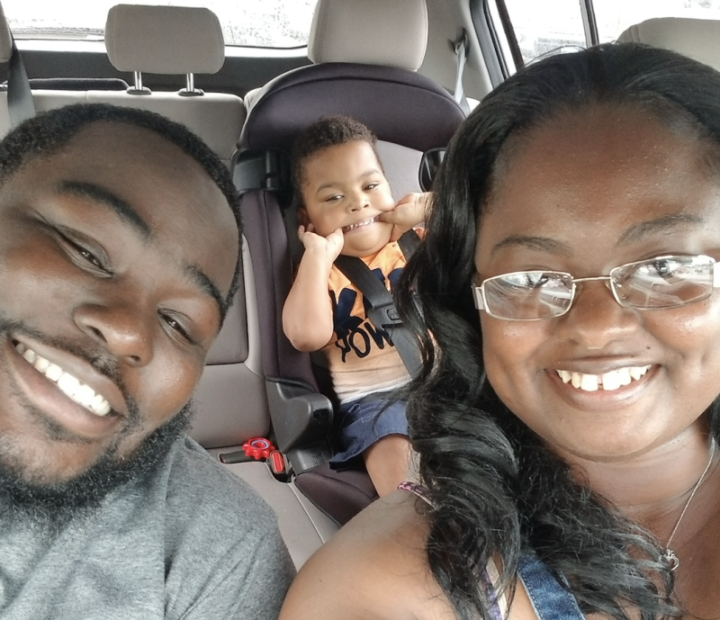 Taneeka Ingram and Terrence Roberson have adopted Jakobe, whom the new mom first met as a nurse. (Photo: Courtesy of Taneeka Ingram)