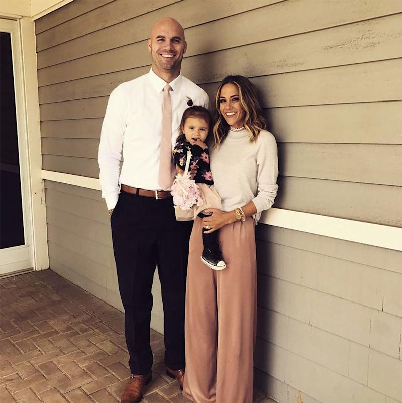 Mike Caussin, Jana Kramer and daughter Jolie