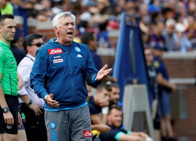 Ready to strike in Serie A: Carlo Ancelotti has won titles in Europe's five biggest leagues (AFP Photo/JEFF KOWALSKY)