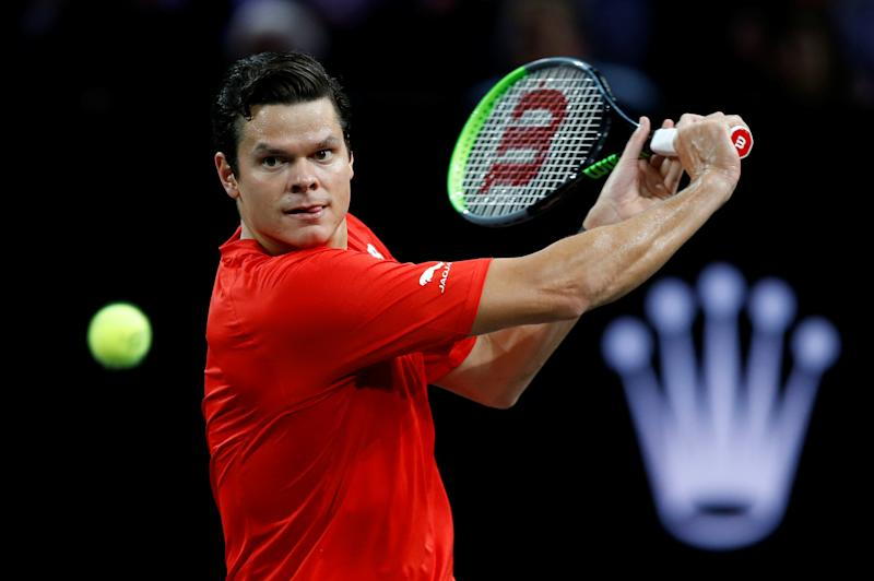 Milos Raonic believes he has the best chance of winning a Grand Slam