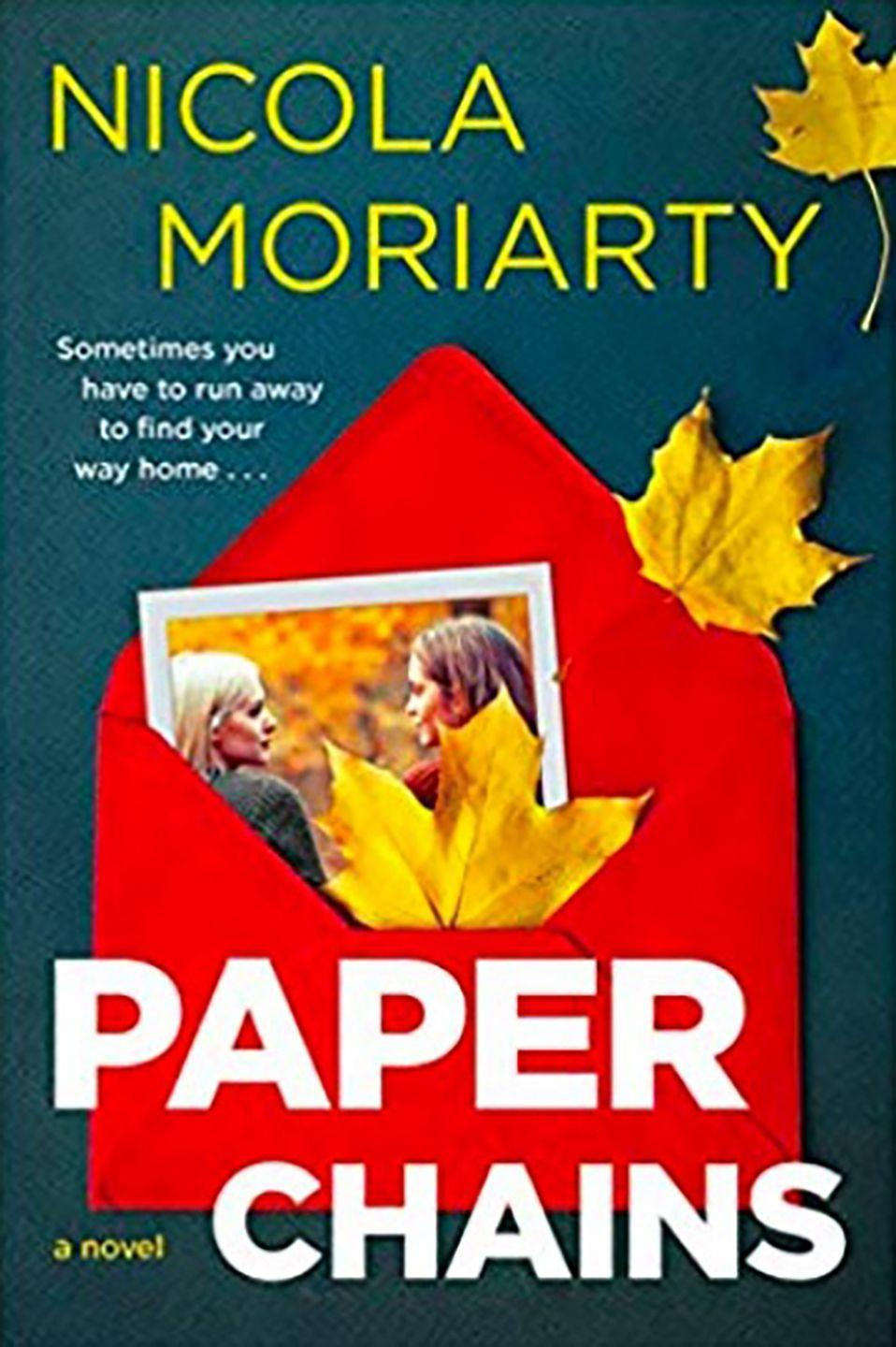"""<p><a class=""""link rapid-noclick-resp"""" href=""""https://www.amazon.co.uk/Paper-Chains-Nicola-Moriarty/dp/0062413546/ref=sr_1_1?keywords=Paper+Chain+by+Nicola+Moriarty&qid=1567162081&s=gateway&sr=8-1&tag=hearstuk-yahoo-21&ascsubtag=%5Bartid%7C1919.g.15922606%5Bsrc%7Cyahoo-uk"""" rel=""""nofollow noopener"""" target=""""_blank"""" data-ylk=""""slk:SHOP NOW"""">SHOP NOW</a> £13.09, Amazon</p><p>Since moving to London from Australia, Hannah has been running (literally and figuratively) from everything. It's only when she meets India, a fellow Australian bursting with confidence and charm, that she starts to feel at home. But both women are hiding secrets - one of which is currently making its way across Europe in an envelope.</p>"""