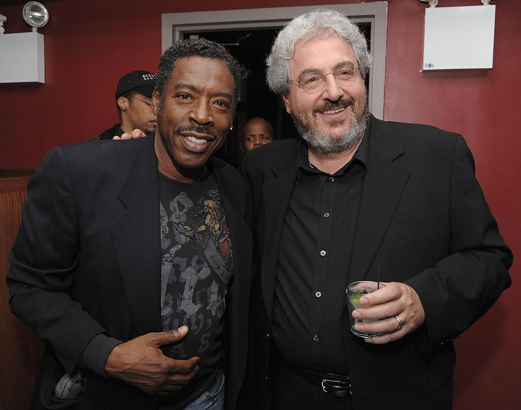 """<a href=""""http://movies.yahoo.com/movie/contributor/1800023537"""">Ernie Hudson</a> and <a href=""""http://movies.yahoo.com/movie/contributor/1800018655"""">Harold Ramis</a> at the New York premiere of <a href=""""http://movies.yahoo.com/movie/1809981033/info"""">Year One</a> - 06/15/2009"""