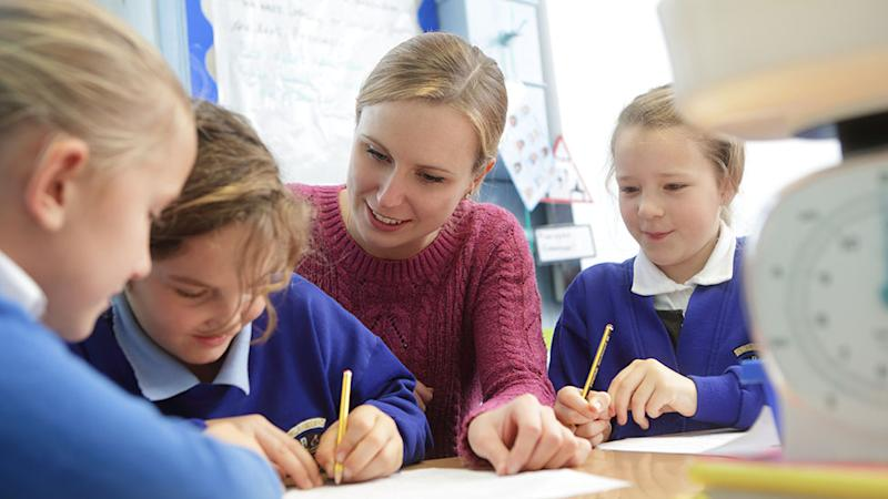 Teachers say social distancing is 'impossible' in schools. Photo: Getty Images