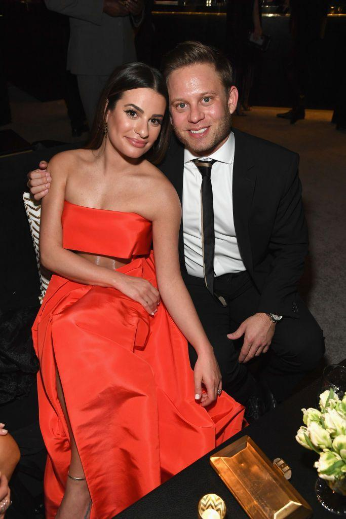 """<p><em>Glee </em>star Lea Michele wed businessman Zandy Reich at an outdoor ceremony in Napa, California in 2019. The couple, who announced their engagement in 2018, were <a href=""""https://www.marieclaire.com/celebrity/a20095967/lea-michele-fiance-zandy-reich-facts/"""" rel=""""nofollow noopener"""" target=""""_blank"""" data-ylk=""""slk:friends for years"""" class=""""link rapid-noclick-resp"""">friends for years</a> but didn't date until 2017. </p>"""