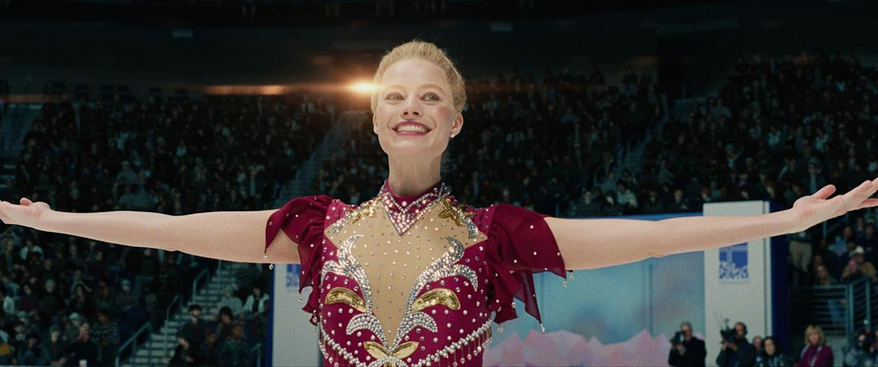 <p>No, that wasn't Tonya Harding portraying herself in I, Tonya. Margot Robbie had moviegoers convinced when she portrayed the figure skater in the 2017 drama. To get into triple axel shape, the Australian actress trained four hours a day, five days a week for five months.</p>
