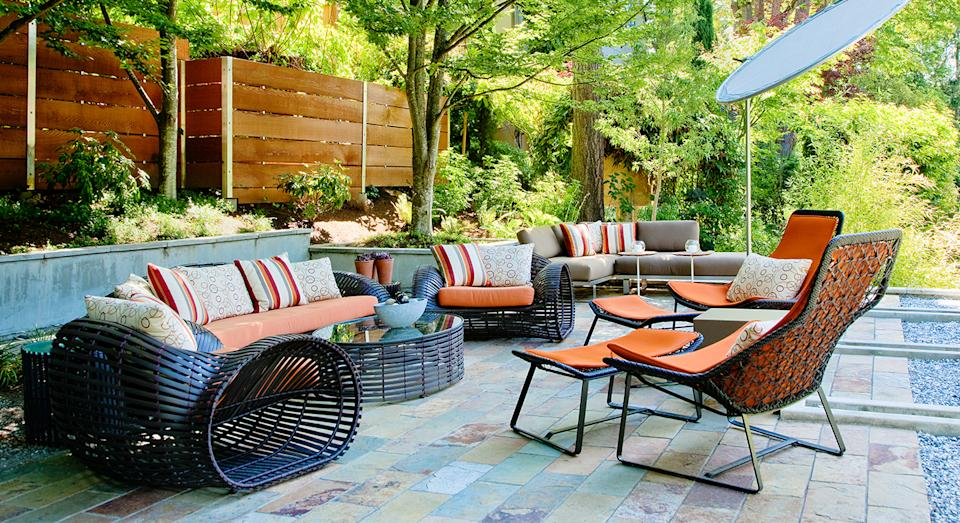 Looking to keep your outdoor furniture protected all year round? This Amazon cover is just the ticket. (Getty Images)