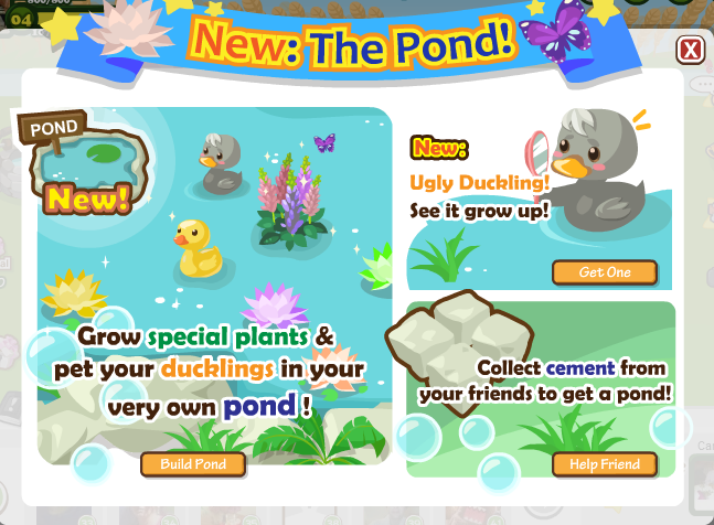 Country Story Pond