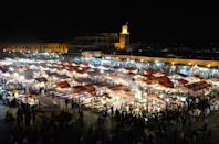 "Marrakesh is working on an app that would allow citizens and tourists alike to ""place emergency calls"" and send in tips (AFP Photo/FADEL SENNA)"