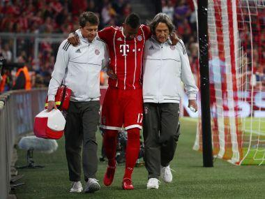 Defensive lynchpin Boateng pulled up after a sprint in the first half of Wednesday's Champions League semi-final first leg against Real Madrid and had to be helped off the field.