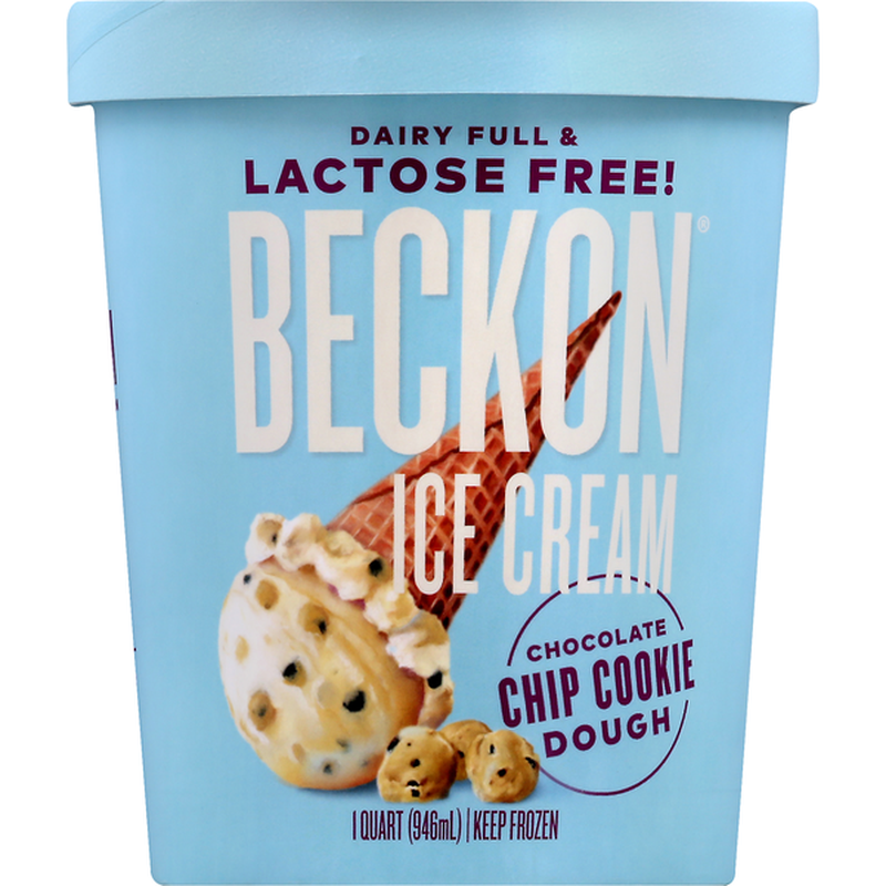 """<p><strong>Beckon Ice Cream</strong></p><p><strong>$9.00</strong></p><p><a href=""""https://go.redirectingat.com?id=74968X1596630&url=https%3A%2F%2Fwww.instacart.com%2Fproducts%2F21175980-beckon-ice-cream-lactose-free-chocolate-chip-cookie-dough-1-qt&sref=https%3A%2F%2Fwww.goodhousekeeping.com%2Ffood-products%2Fg37036070%2Fdairy-products-for-lactose-intolerance%2F"""" rel=""""nofollow noopener"""" target=""""_blank"""" data-ylk=""""slk:Shop Now"""" class=""""link rapid-noclick-resp"""">Shop Now</a></p><p>With flavors like Peanut Butter Cup, Chocolate Chip Cookie Dough, Mint Chip and Espresso, <a href=""""https://beckonicecream.com/"""" rel=""""nofollow noopener"""" target=""""_blank"""" data-ylk=""""slk:Beckon"""" class=""""link rapid-noclick-resp"""">Beckon </a>considers itself the first premium-style lactose-free ice cream on the market — and it tastes as creamy and delicious as other high-end pints. Beckon uses natural ingredients including hormone-free milk and cream, egg yolks and pure cane sugar along with the all-important lactase.</p>"""