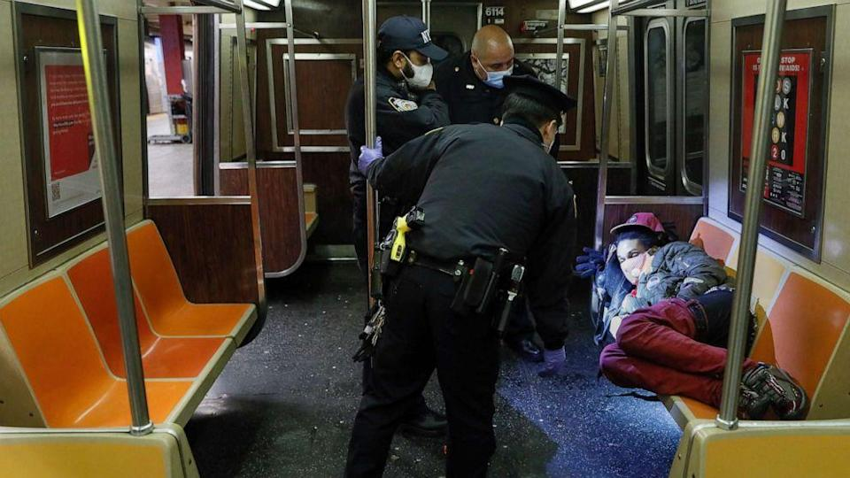 As NYC subways prepare for disinfecting, homeless will have to find alternate refuge