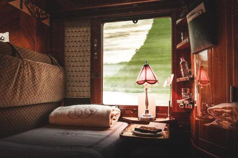 <span>A journey on the Orient Express is a once-in-a-lifetime trip</span> <span>Credit: MARTIN SCOTT POWELL </span>