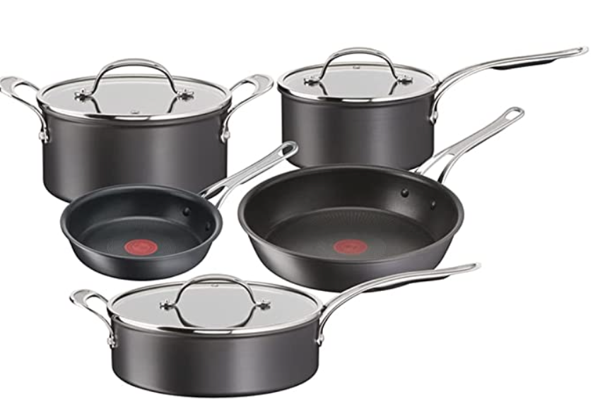 Jamie Oliver by Tefal Induction Non-Stick 5 piece set