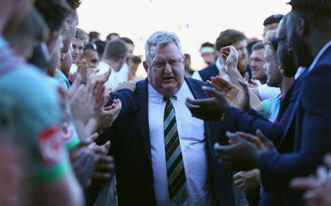 <span>Harlequins are looking for a successor to outgoing director of rugby John Kingston</span> <span>Credit: Getty Images </span>