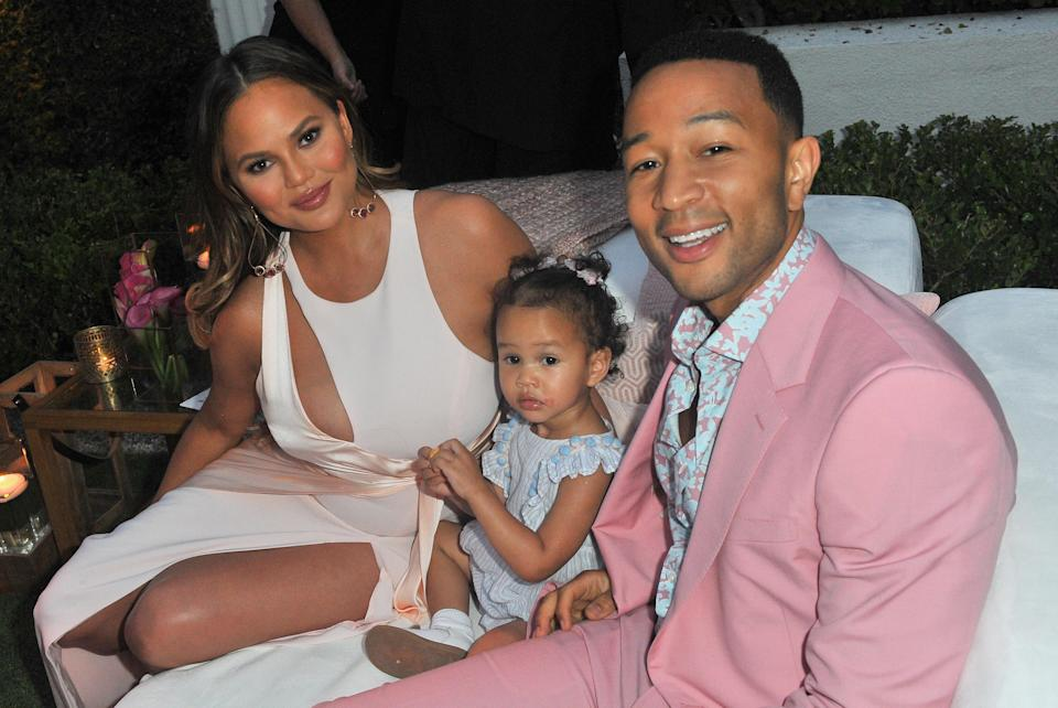 Chrissy Teigen and John Legend conceived their children Luna and Miles using IVF. (Photo: Getty Images)