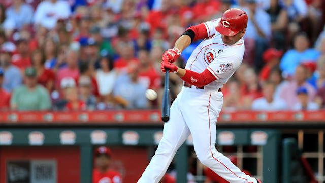 RedsXtra: Joey Votto having more fun as his revamped swing leads to better results