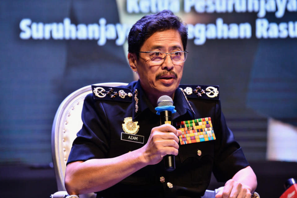MACC chief commissioner Datuk Seri Azam Baki said that he viewed the recent claims by members of the public seriously and expressed concern over the repercussions of such activities. — Bernama pic
