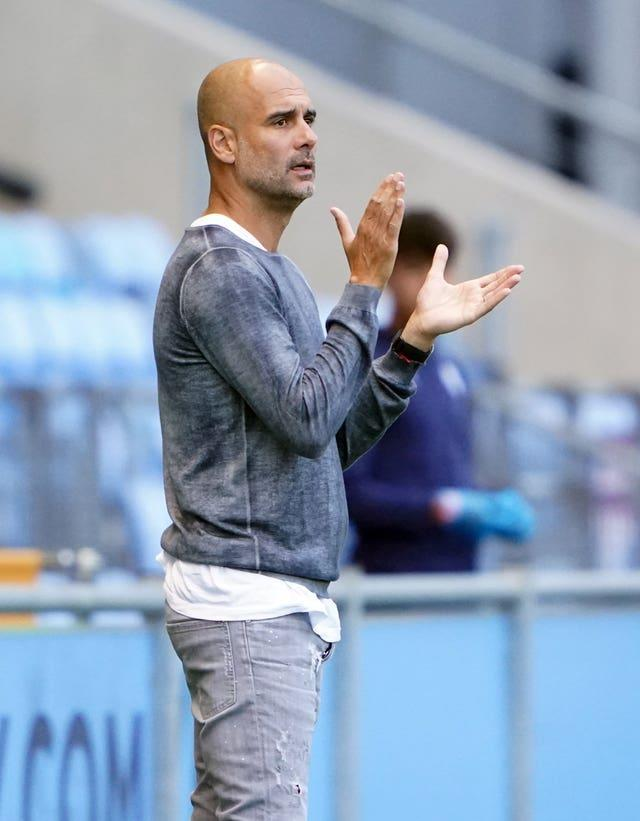 Guardiola was unwilling to discuss how close the club came to signing Cristiano Ronaldo