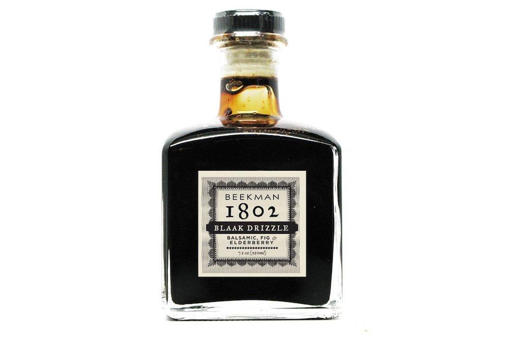 """<p>The unique flavor of this sweet finishing vinegar will add a dash of excitement to your foodie's meals. From cheese to salads and even vanilla ice cream, this cask-aged balsamic can enhance any dish with its balanced flavor of sweet figs and tart elderberries.</p> <p><strong>To buy: </strong>$18; <a href=""""http://www.anrdoezrs.net/links/7876406/type/dlg/sid/RS%2CGiftsforFoodies%2Ctiadmin%2CGIF%2CGAL%2C257553%2C201910%2CI/https://www.mouth.com/collections/oil-vinegar/products/fig-elderberry-blaak-drizzle-beekman-1802#variant=15414550659106"""" target=""""_blank"""">mouth.com</a>.</p>"""