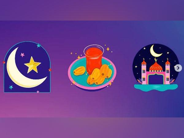 The stickers introduced by Instagram on Ramzan (Image courtesy: Instagram)