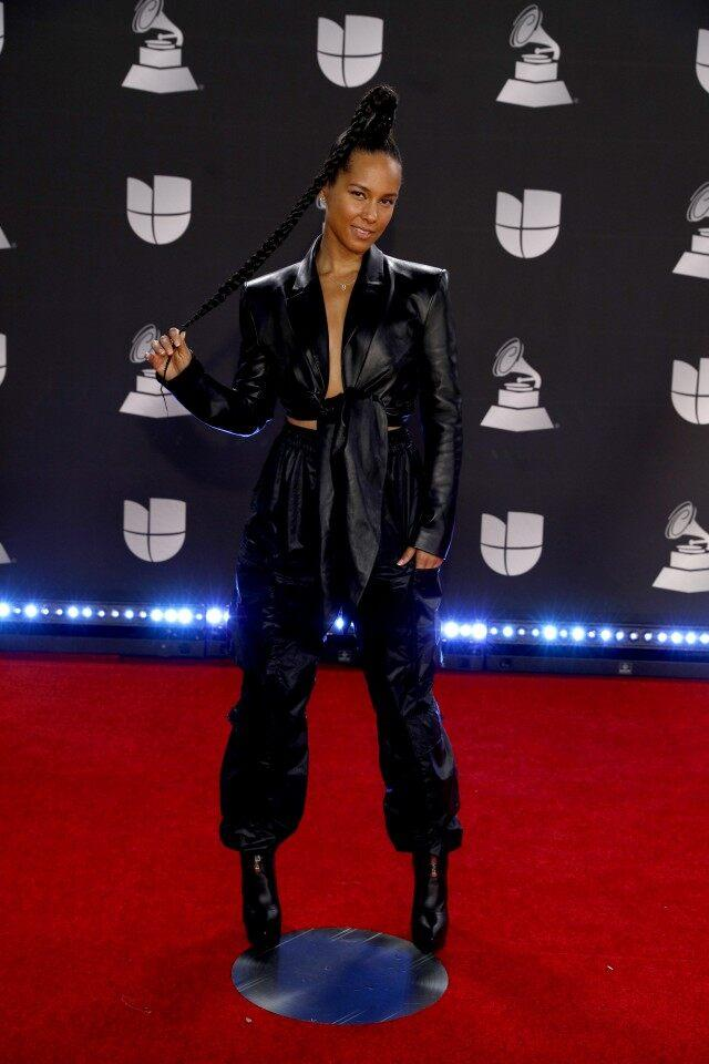 Alicia Keys Latin Grammys 2019