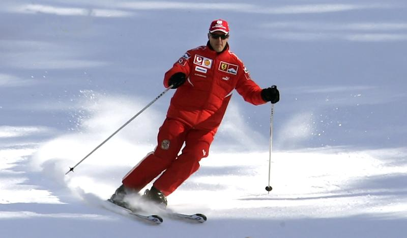 Video of Michael Schumacher Airlifted to Grenoble After Ski Crash in Meribel