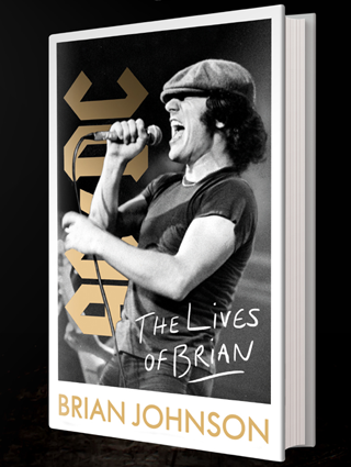 """AC/DC singer and Sarasota resident Brian Johnson is releasing an autobiography titled """"The Lives of Brian."""""""