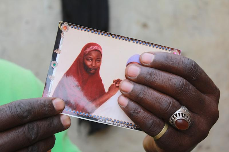 Hauwa was one of the 276 schoolgirls kidnapped by Boko Haram on April 14, 2014 (AFP Photo/Audu Ali MARTE)