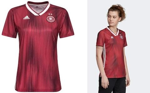 Germany away kit, 2019 Women's World Cup - Credit: ADIDAS