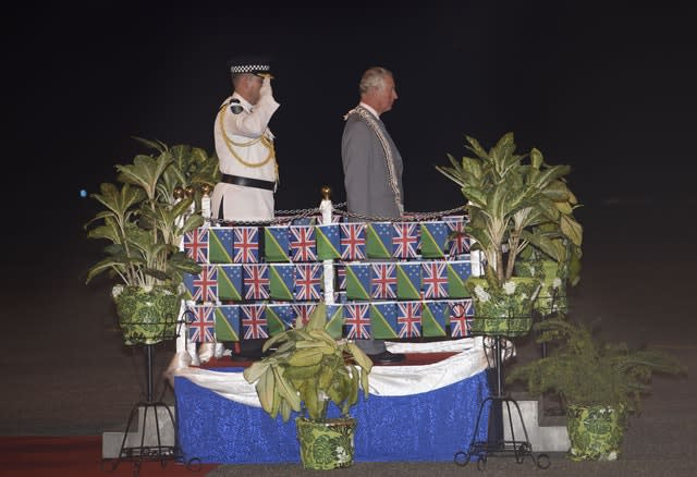 Royal visit to Solomon Islands – Day One