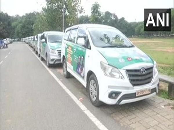 Jharkhand govt launches 60 'Vaccine Express' vehicles (Photo/ANI)