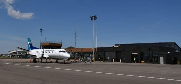The Medicine Hat Regional Airport has gone quiet after both Air Canada, and now Westjet have pulled commercial flights temporarily. (City of Medicine Hat - image credit)
