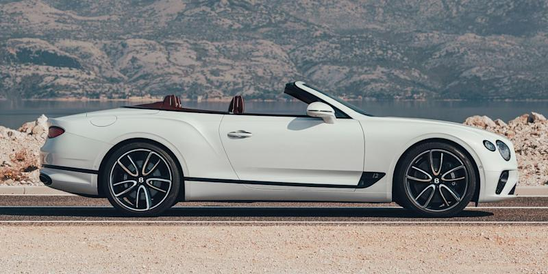 the 2019 bentley continental gt convertible carries on a grand rh news yahoo com