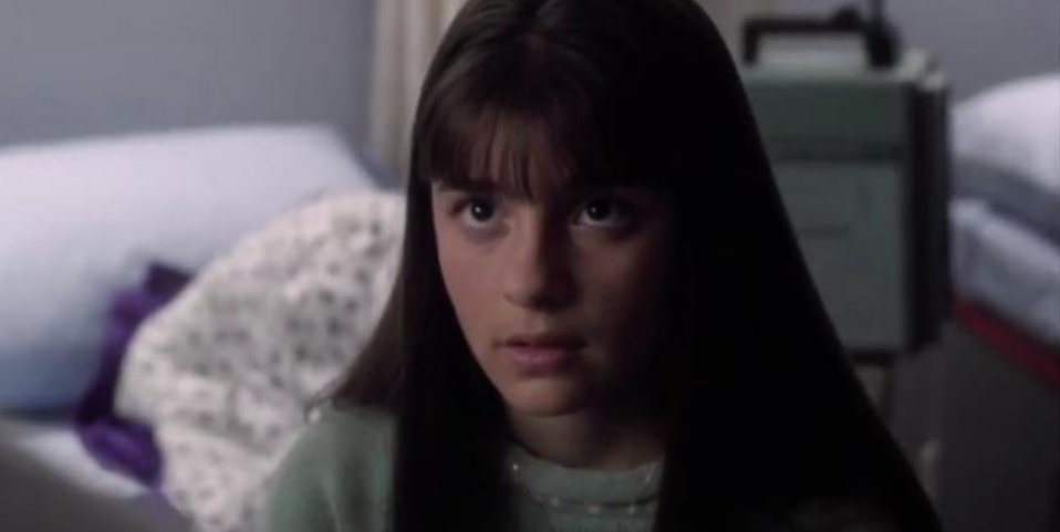 """<p>Shiri Appleby landed a reoccurring guest role as Dr. Daria Wade in 2008 — but that wasn't the first time the actress paid a visit to County General. In 1994, a young Appleby (pictured) played the patient Ms. Murphy in the episode """"24 Hours.""""</p>"""